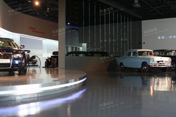 汽车博物馆 上海写艺展厅设计案例