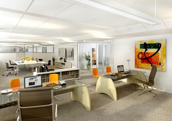 办公空间设计的界面处理