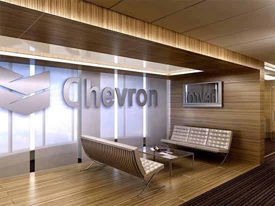 國外辦公室設計欣賞:chevron汽車