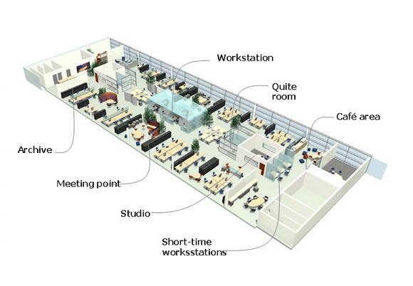 办公空间方案设计语言