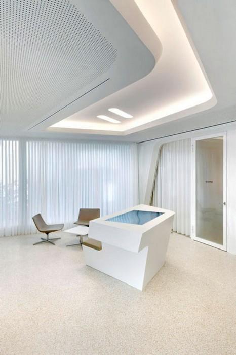 国外办公室装修设计欣赏:raiffeisen银行10