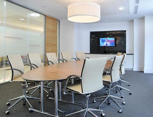 国外办公室设计欣赏:aegis投资-办公室装修图片6