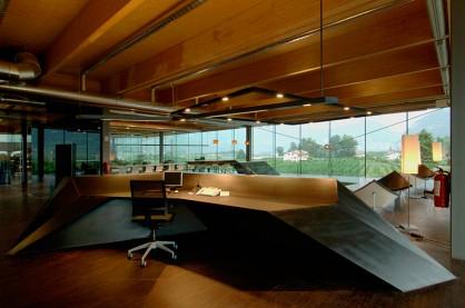 6人办公室_开敞式办公空间_办公室装修百科