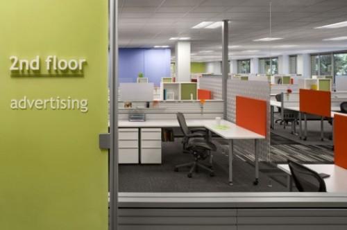 国外办公室装修设计欣赏:ebay电商 办公室装修百科