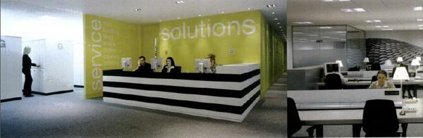 国外办公室装修设计欣赏:pricewaterhousecoopers 财务