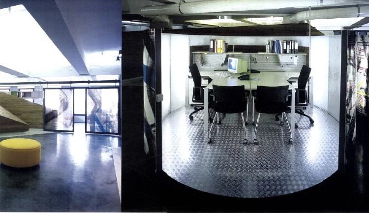 国外办公室装修设计欣赏:rafineri广告公司