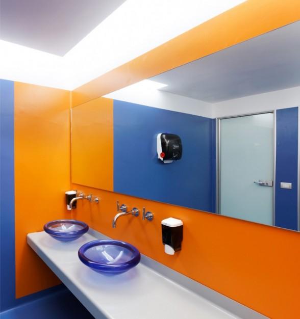 国外办公室装修设计欣赏 google米兰