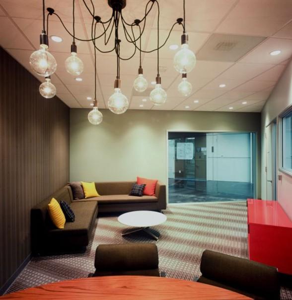 国外办公室装修设计欣赏:facebook 新办公室