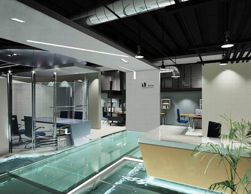简约风格室内设计风格特点-办公室装修图