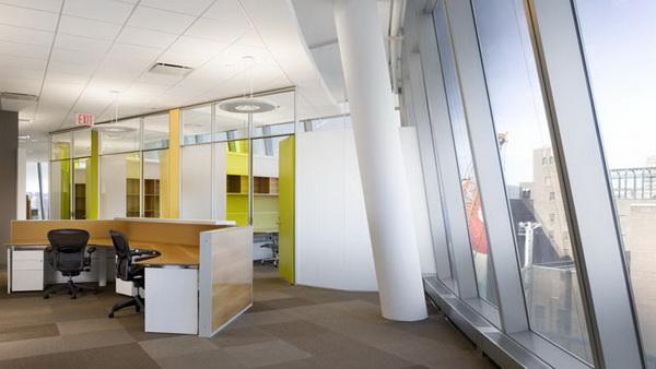 设计考量与建筑结构_办公室装修图片