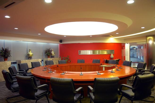 飞利浦奔腾办公研发楼 -圆形会议空间