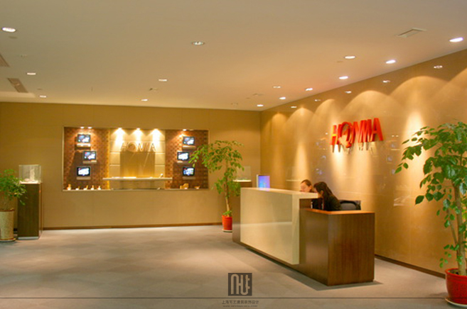 客户案例6; add办公设计; honma高尔夫环球办公室_上海写艺办公室装修