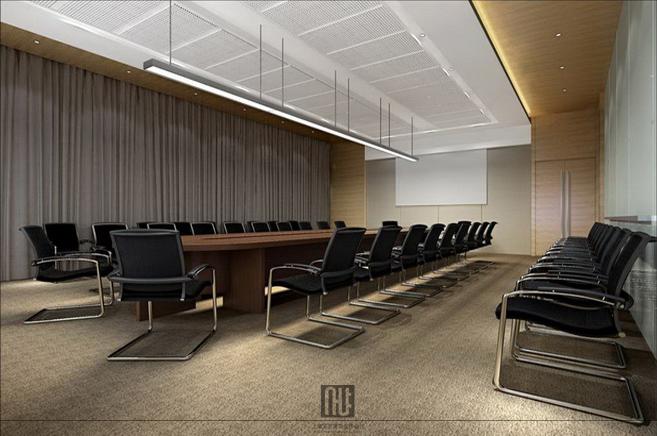 山推股份办公楼装修 -大会议室