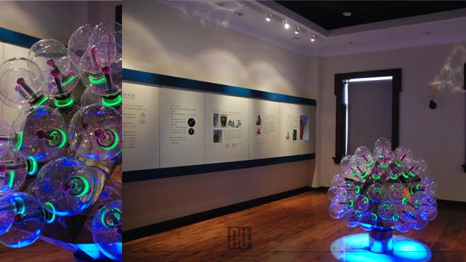天津电力_上海写艺展厅装修设计案例